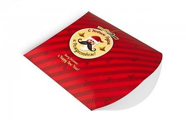 сувенирная упаковка из мелованного картона