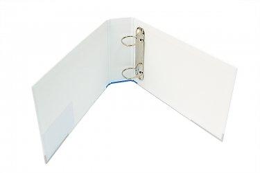 Кашированная папка с кольцевым механизмом