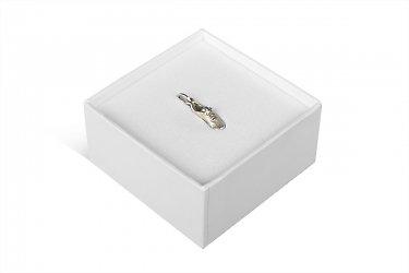 Коробка крышка-дно для ювелирных украшений с ложементом ЭВА