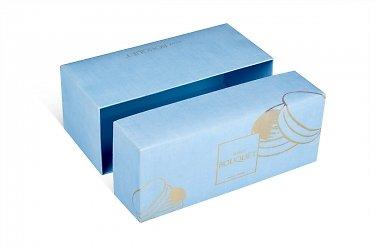 заказать подарочные коробки для цветов с пирожными