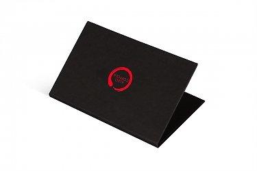 упаковка для пластиковой карты в подарок