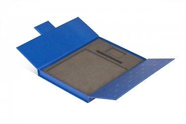 коробки для корпоративных подарков с клапаном на магните