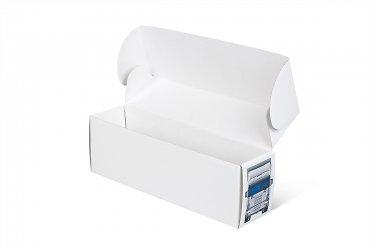 картонная упаковка с логотипом - коробка-самолет