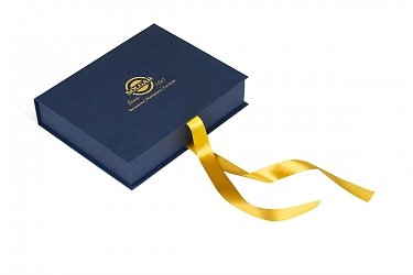 подарочная упаковка с логотипом для корпоратива