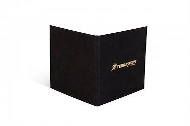Кашированная упаковка для пластиковой карты и листовки в Москве – производство на заказ