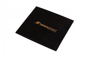 упаковка для подарочных карт с буклетом