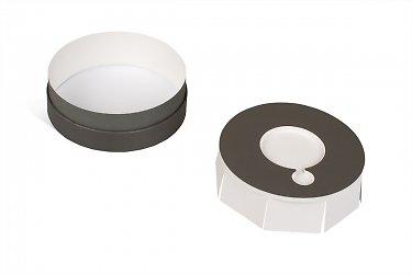 круглые коробки - дизайн и изготовление
