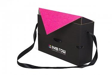 производство подарочных коробок с логотипом для магазина косметики и парфюмерии