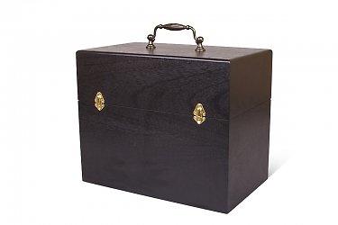 большая деревянная коробка