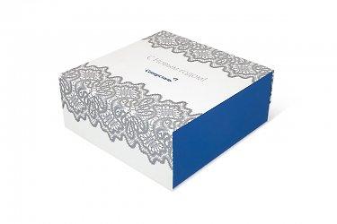 упаковка корпоративных подарков для нового года