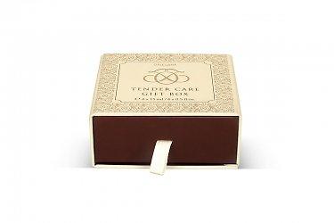 элит упаковка - коробка пенал с тиснением