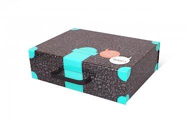 коробки для сувениров в чемодане
