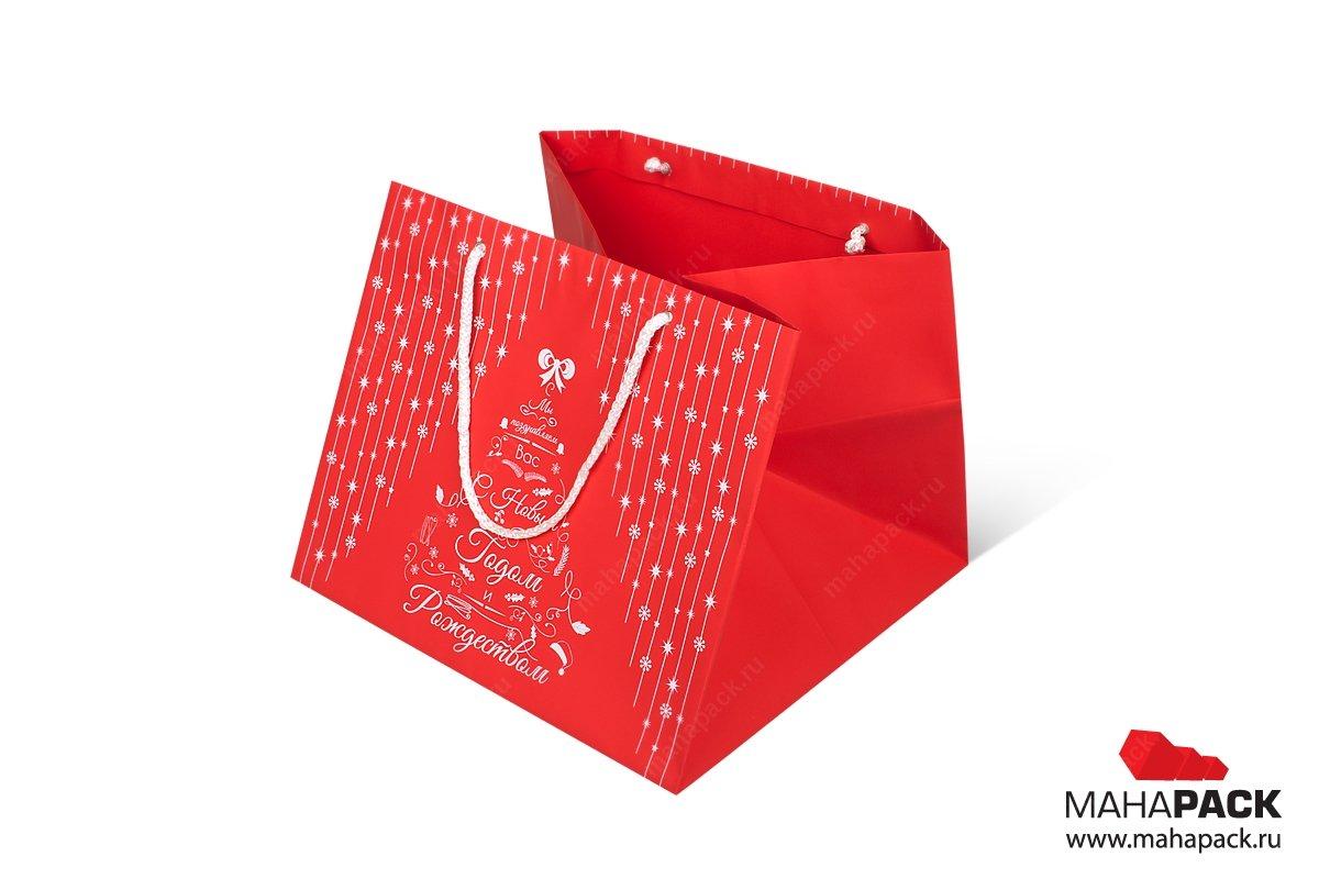 дизайнерские пакеты большим тиражом на корпоратив