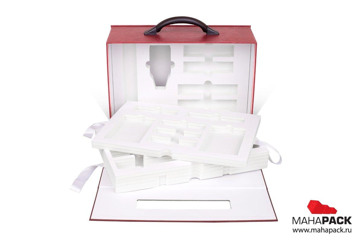 корпоративная упаковка чемодан с ложементом