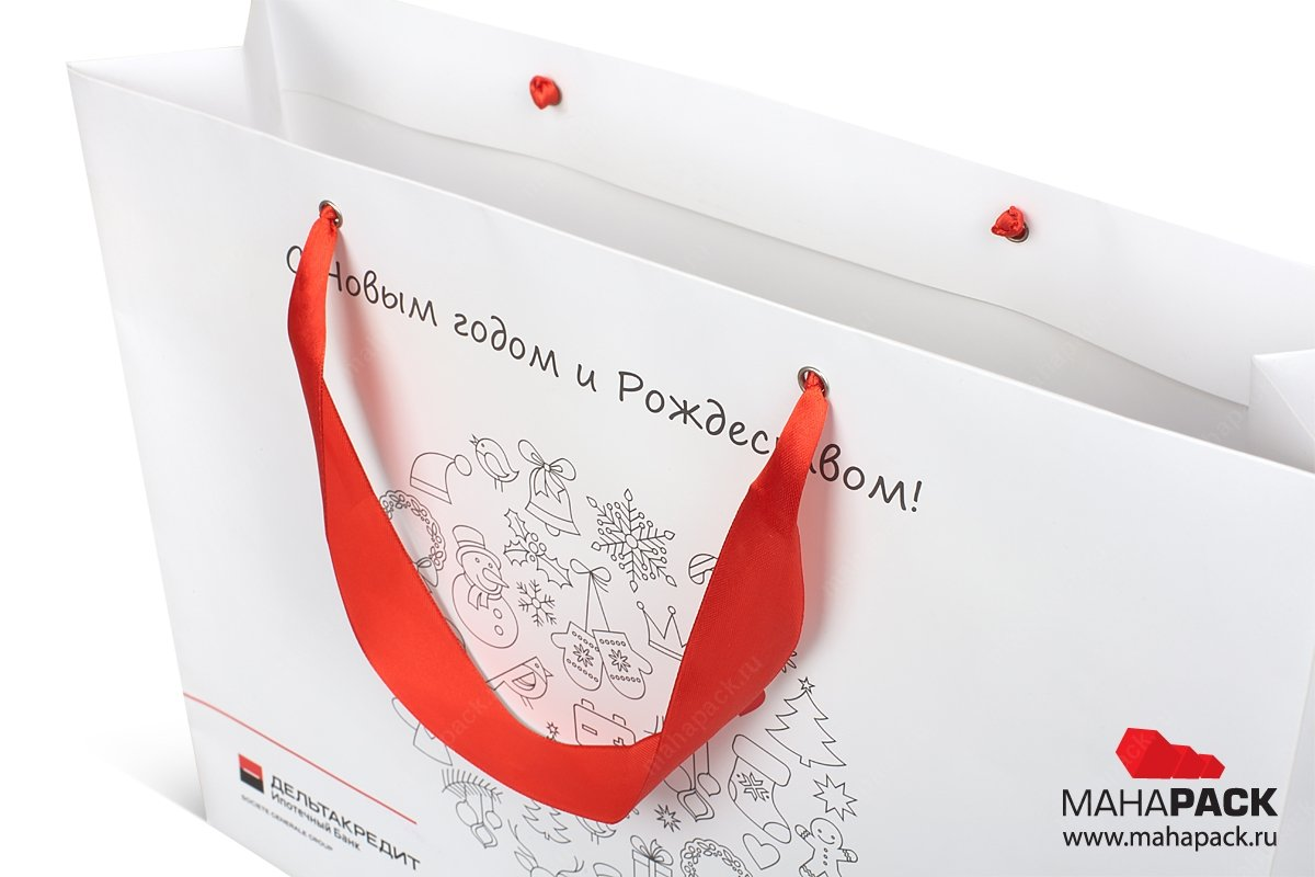 подарочная упаковка на заказ с лентами