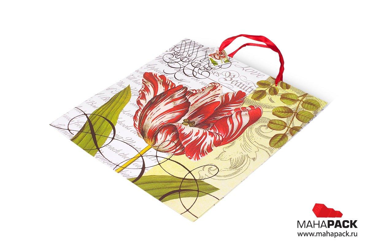 подарочные упаковки пакеты с ручками лентами