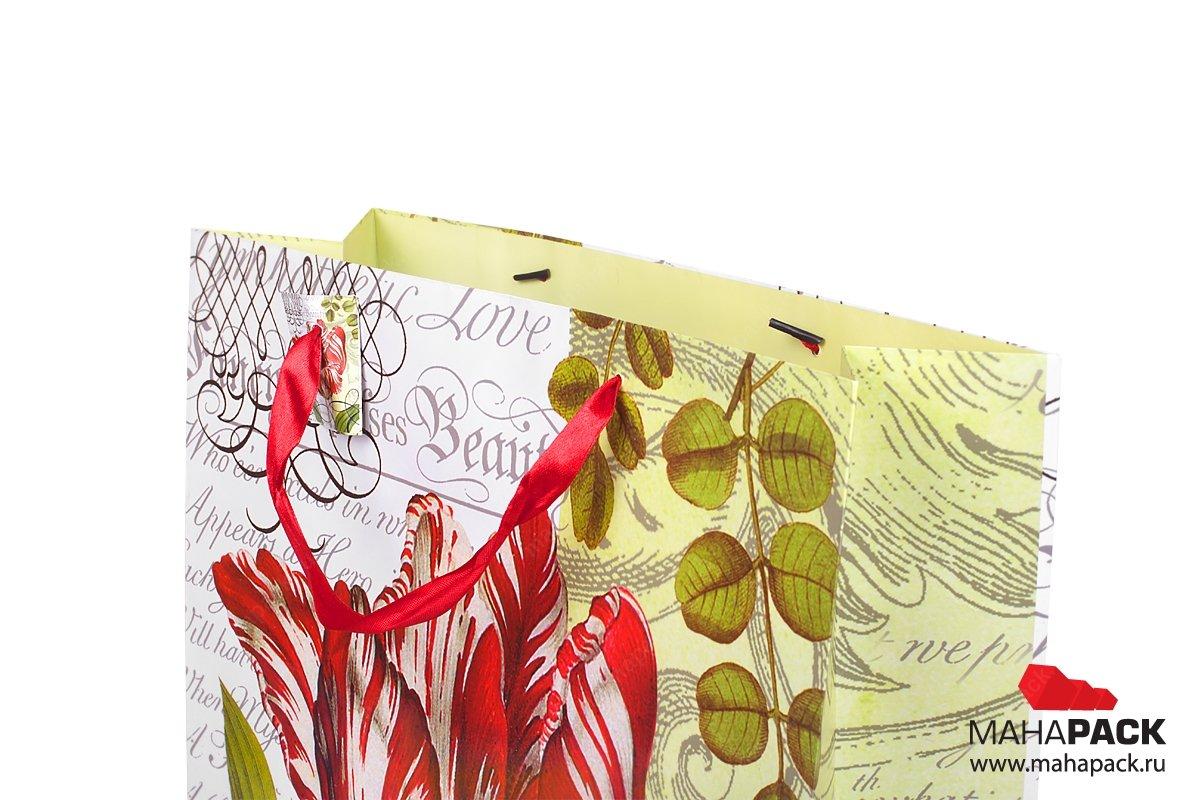 подарочные упаковки с ручками лентами