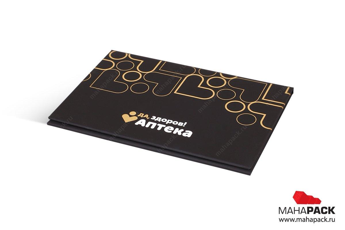 подарочная коробка для кредитной карты большим тиражом