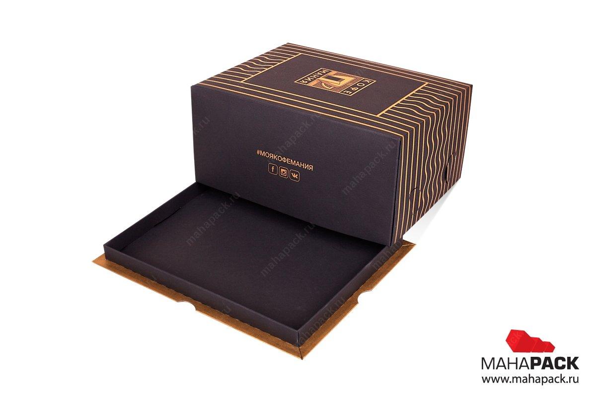картонная упаковка на заказ для кондитерской