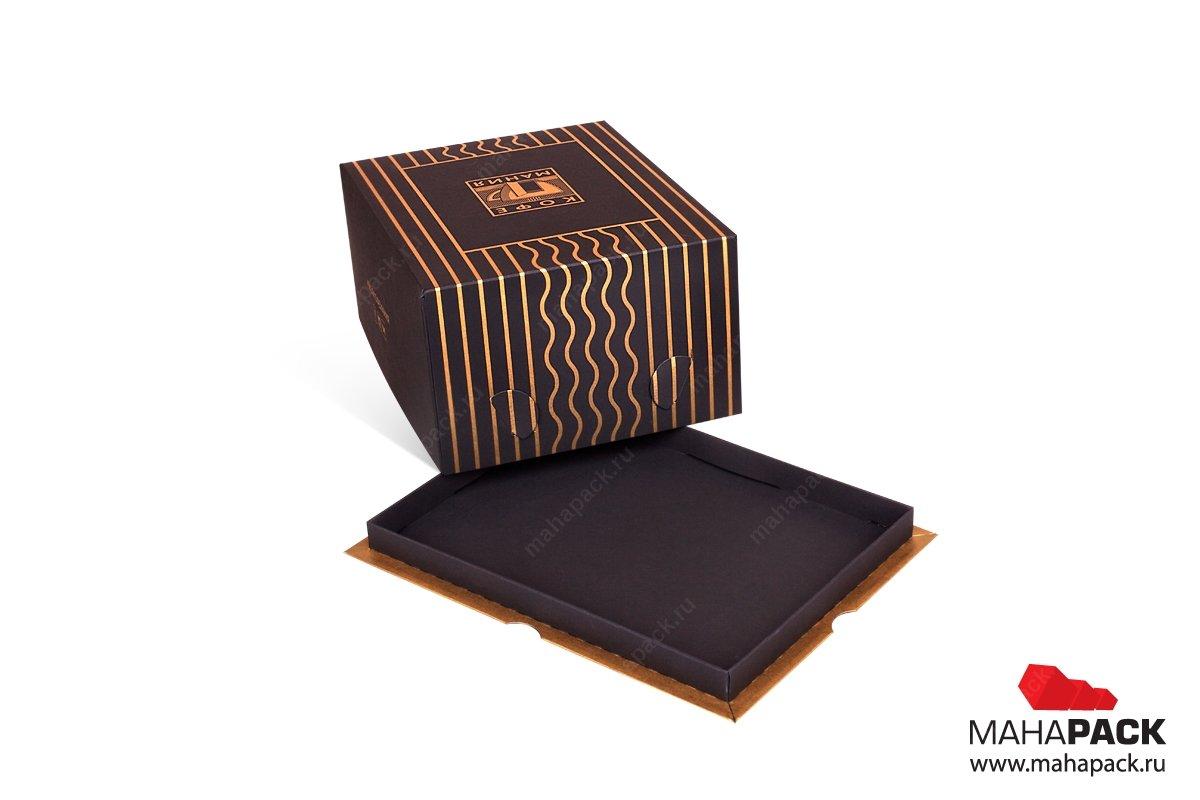 картонная упаковка на заказ для торта
