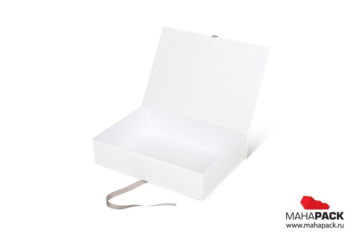 упаковка подарочная - коробка книжка с лентами