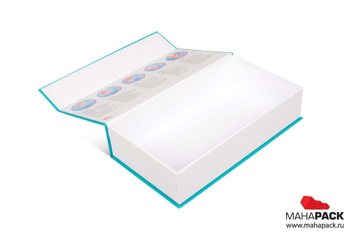 коробка без ложемент - упаковка для фармацевтики