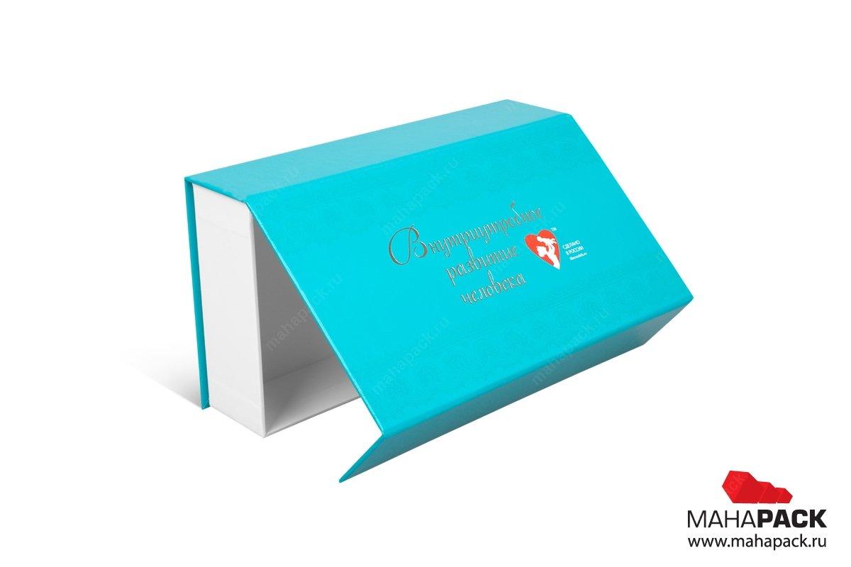 коробка с клапаном на магните - упаковка