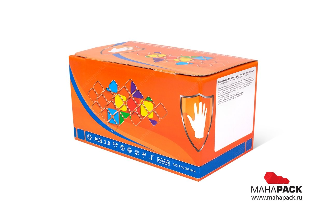 картонная упаковка на заказ для фармацевтики