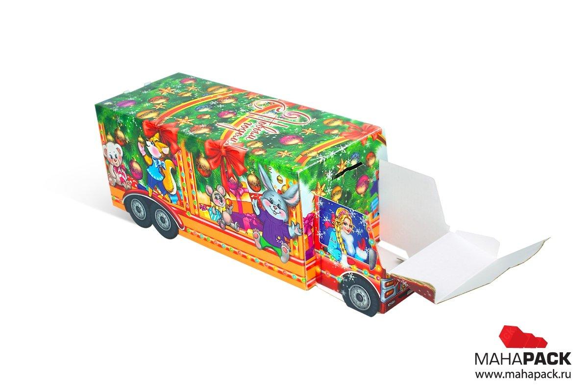эксклюзивная подарочная упаковка из МГК для конфет