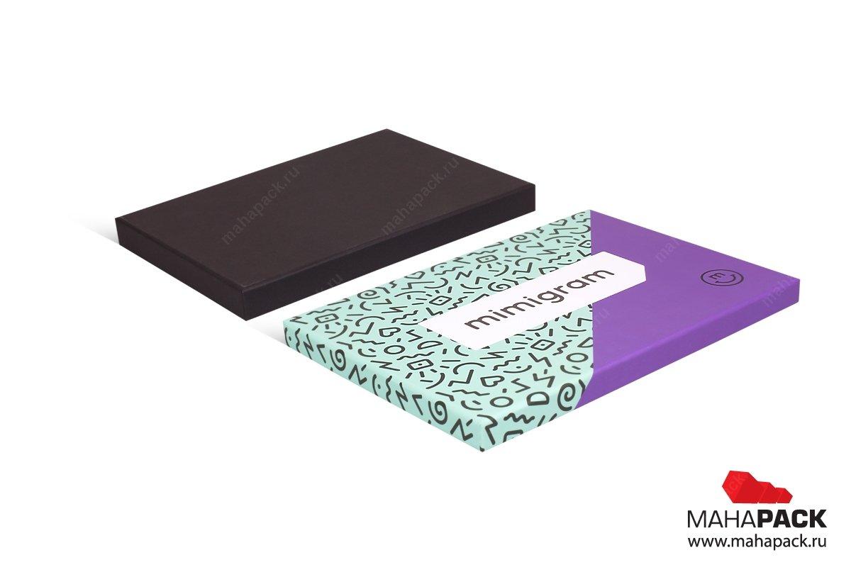 картонная упаковка на заказ небольшим тиражом