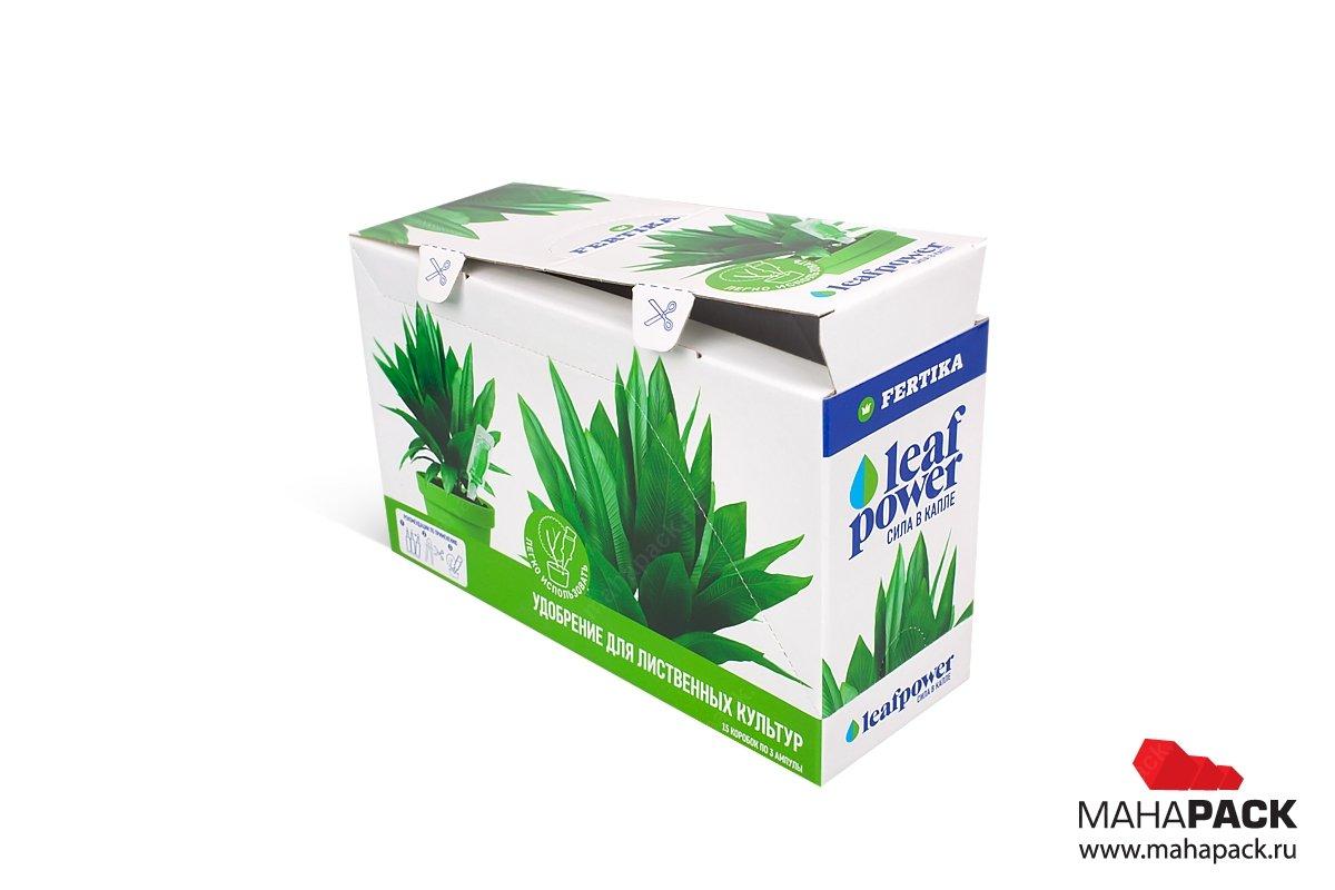 заказать упаковку с логотипом - коробка-трансформер