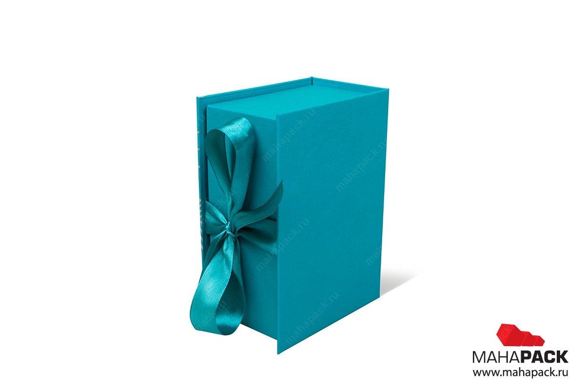 изготовление коробочки с лентами