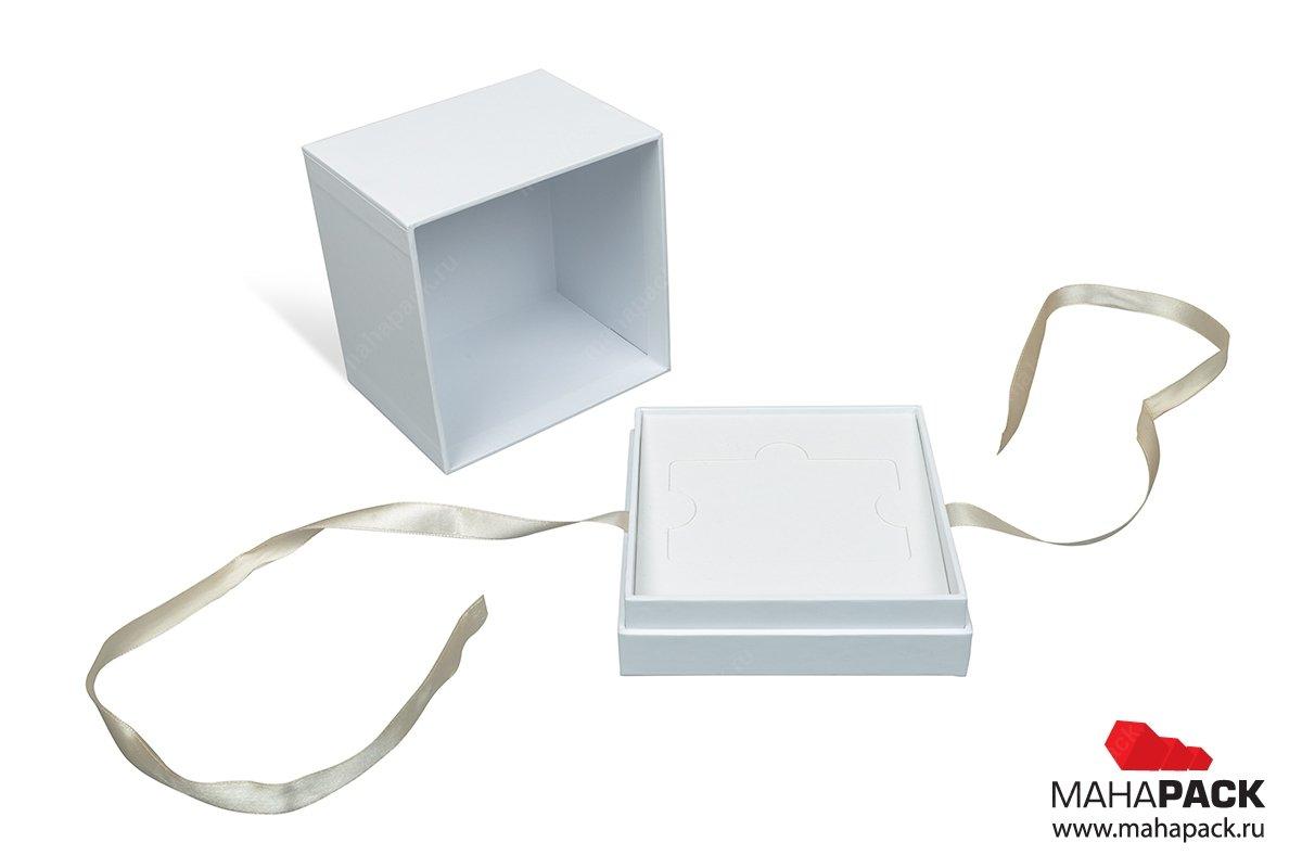 разработка фирменной упаковки с лентами