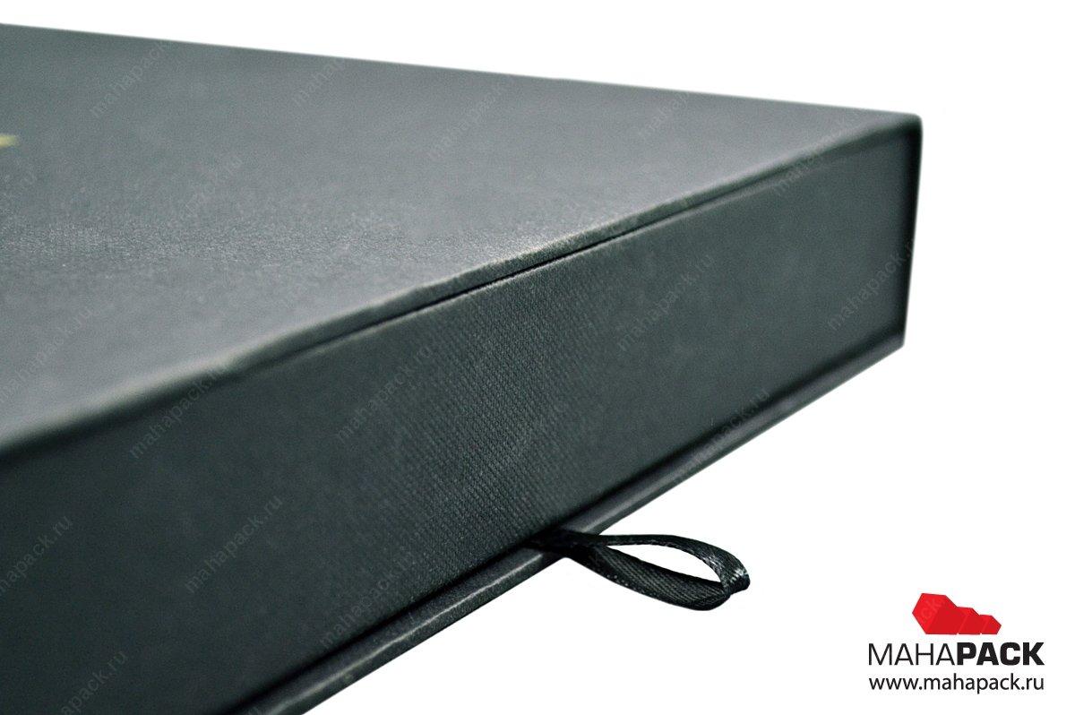 Кашированная коробка-пенал с ложементом