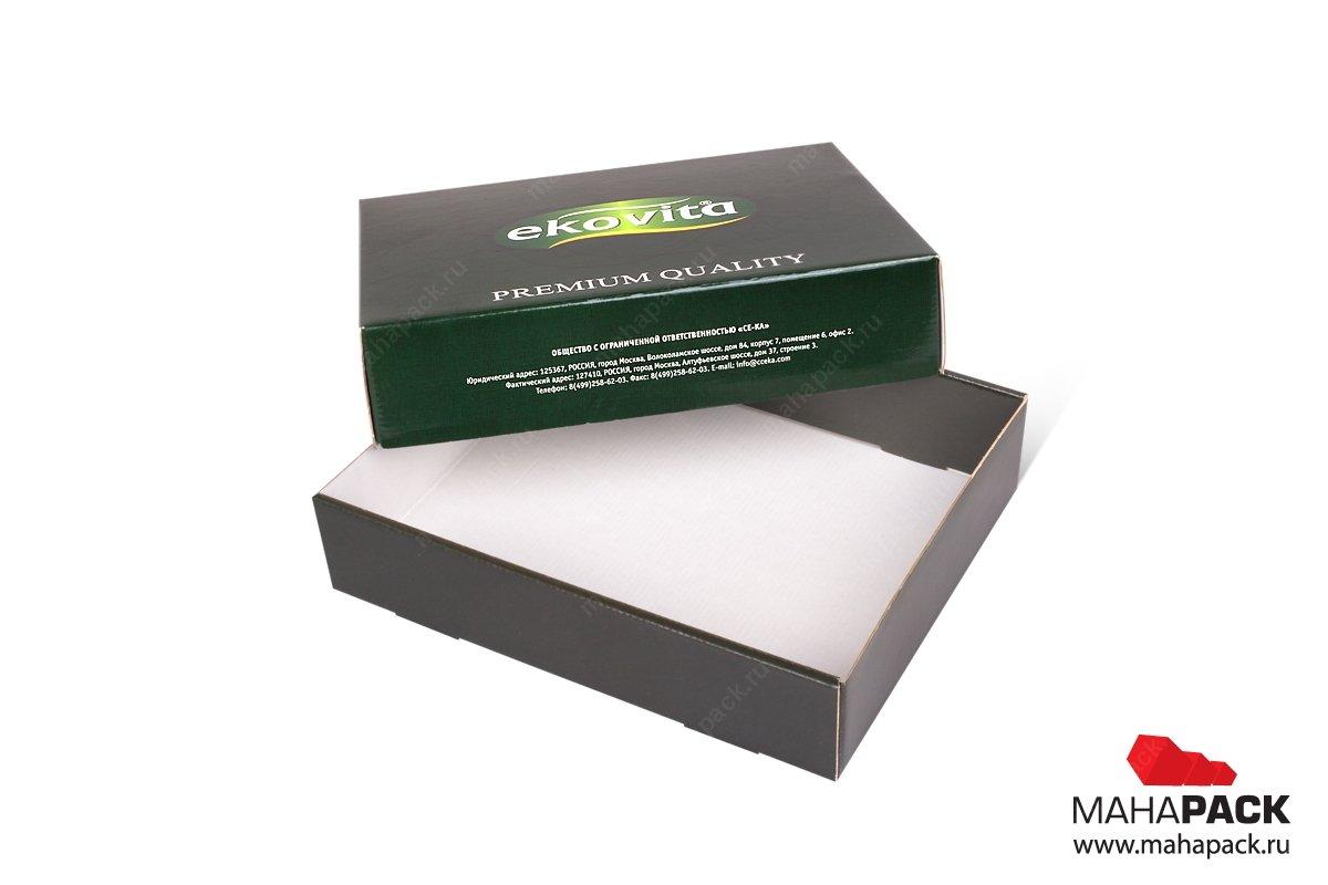 коробки под заказ из МГК большим тиражом
