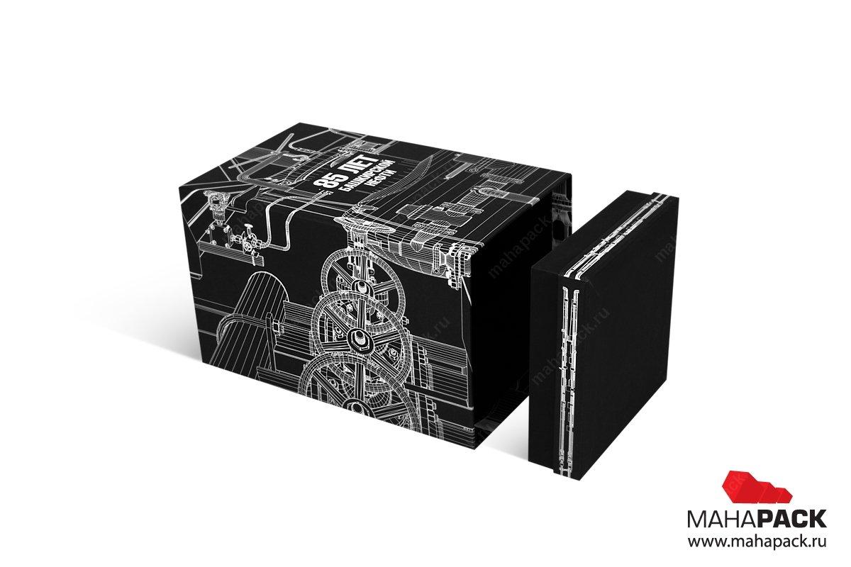 дизайнерская коробка с двойными бортами
