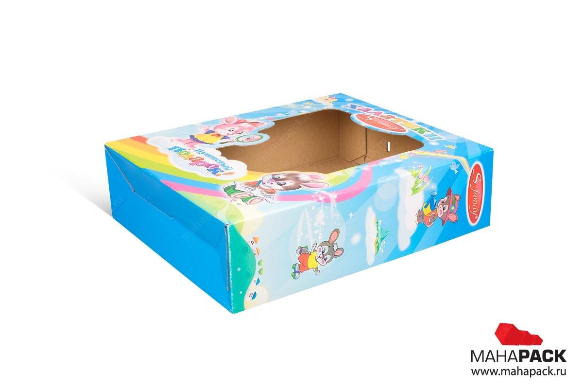 МГК коробка самосборная