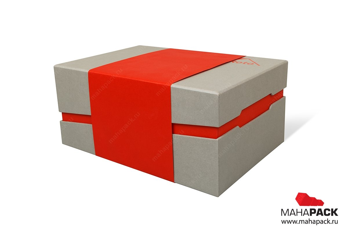 дизайнерская коробка в шубере