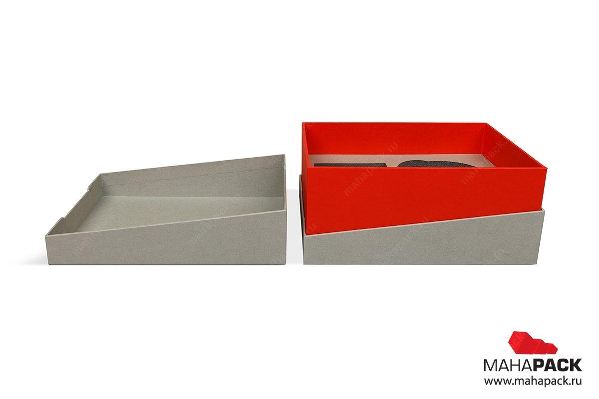 дизайнерская коробка крышка-дно