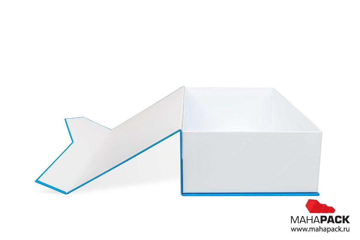 подарочные коробки с клапаном на магните производство