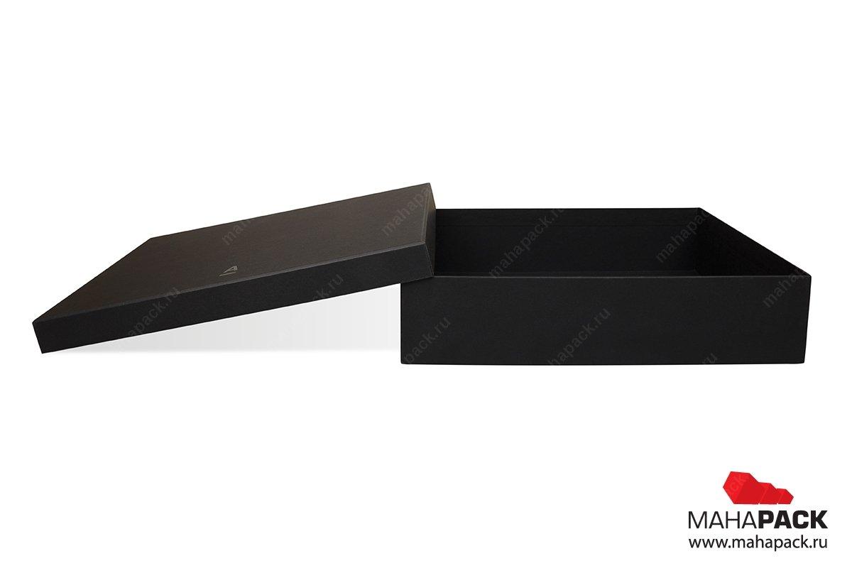 кашированная коробка крышка-дно изготовление