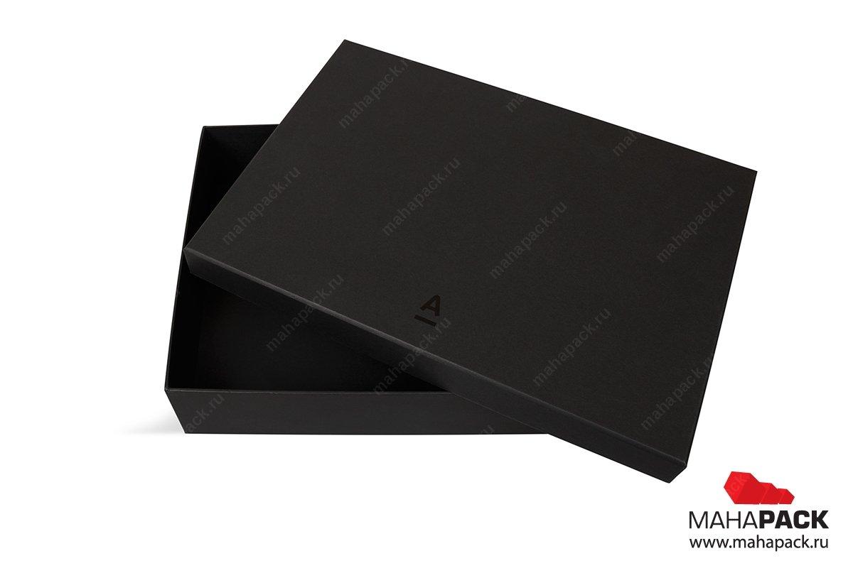 кашированная коробка крышка-дно изготовление Москва