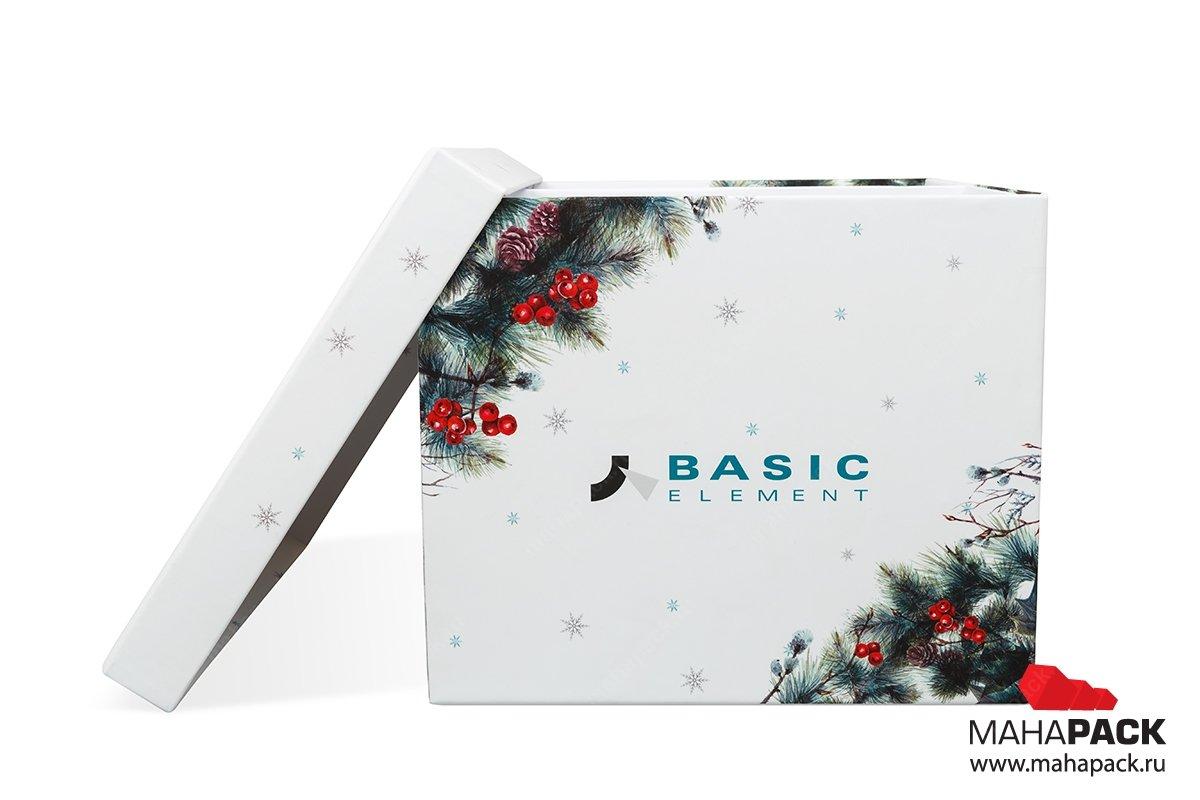 упаковка подарочного набора коробка крышка-дно