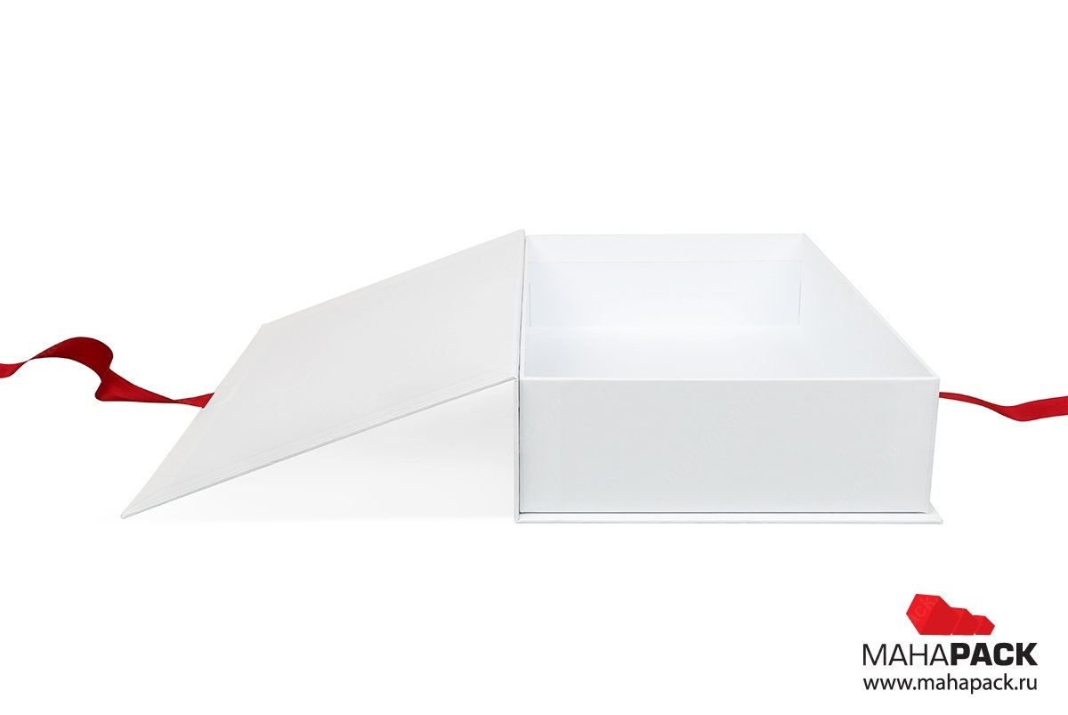 коробки подарочные на заказ c лентами