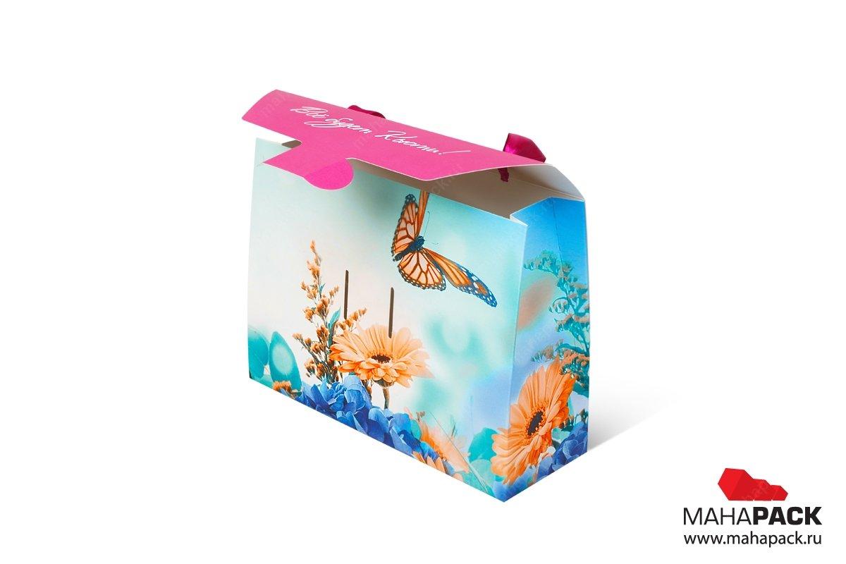 разработка дизайна и производство подарочной упаковки