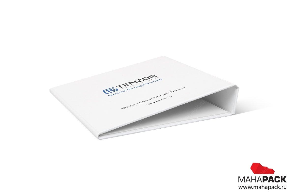 упаковка для пластиковых карт в виде папки