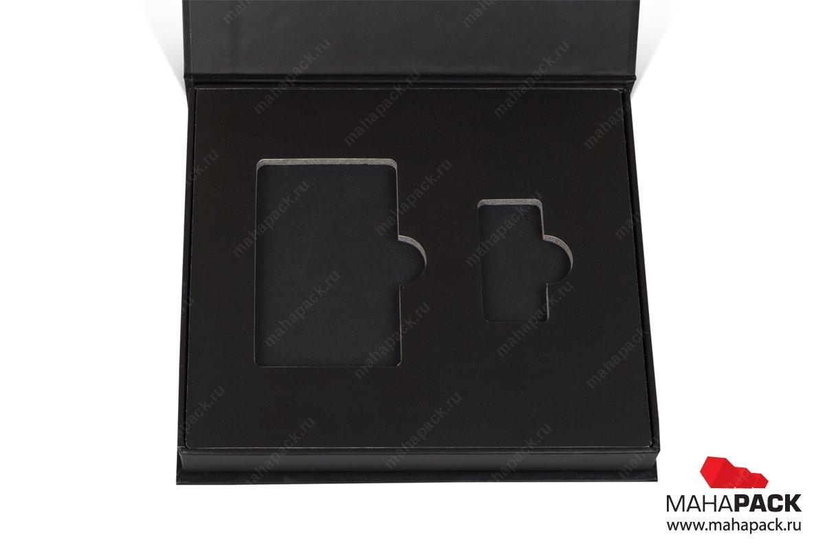 подарочная упаковка для флешек с ложементом