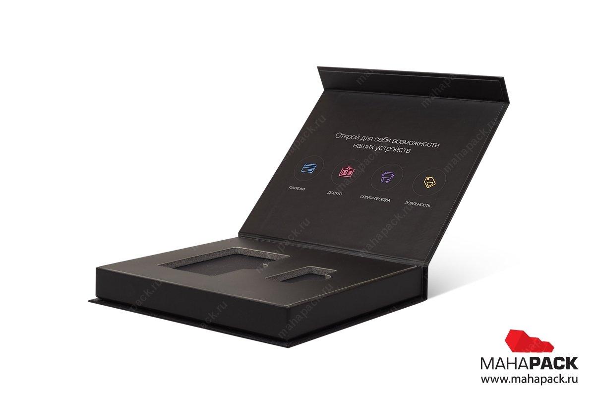 подарочная упаковка для флешек и карты производство Москва