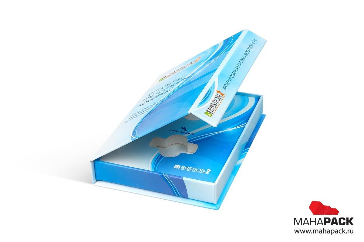упаковка для флешки с откидной крышкой