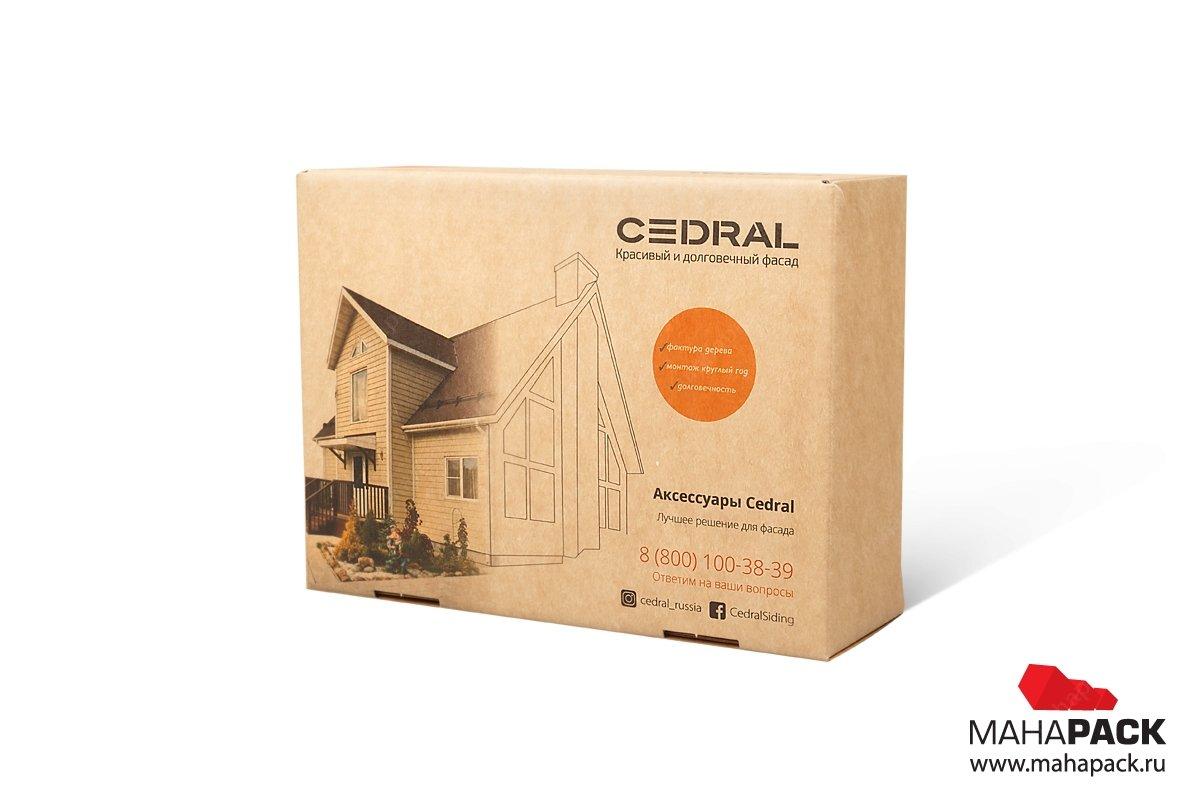 картонная упаковка с логотипом из мгк